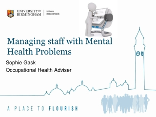 Managing staff with Mental Health Problems