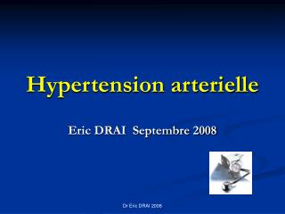 Hypertension arterielle