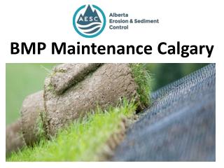 BMP Maintenance Calgary