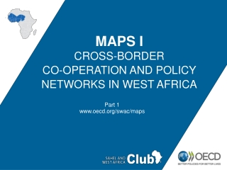 MAPS I Cross-border Co-operation and Policy Networks in West Africa
