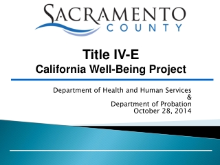 Department of Health and Human Services & Department of Probation October 28, 2014