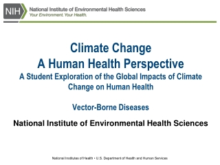 National Institute of Environmental Health Sciences