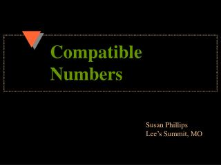 Compatible  Numbers
