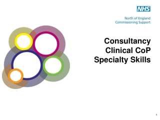 Consultancy Clinical CoP Specialty Skills