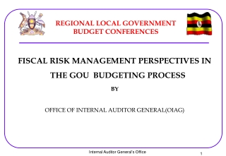 REGIONAL LOCAL GOVERNMENT BUDGET CONFERENCES