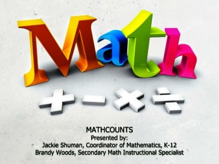 Introducing MATHCOUNTS