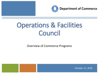 Operations & Facilities Council