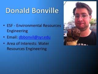Donald Bonville
