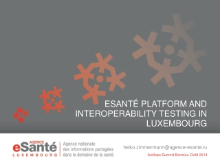 eSanté Platform and Interoperability Testing in LuxemBourg