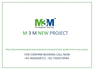 M3M New Project