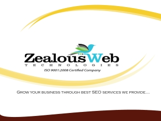 Get Organic SEO Services from India
