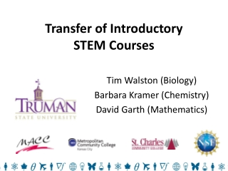 Transfer of Introductory STEM Courses