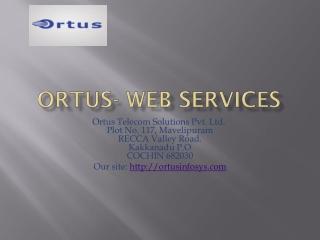 Ortus - Web services