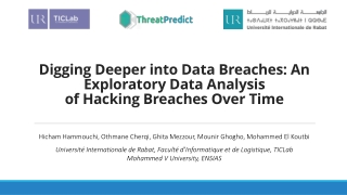 Digging Deeper into Data Breaches: An Exploratory Data Analysis of Hacking Breaches Over Time