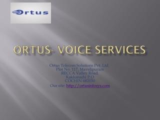 Ortus- Voice services