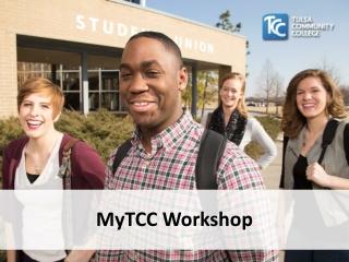 MyTCC Workshop
