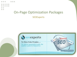 Get the best on-page optimization services