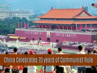 China celebrates 70 years of Communist rule