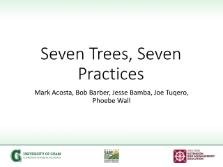 Seven Trees, Seven Practices