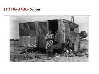 [ 9.2 ] Fiscal Policy Options