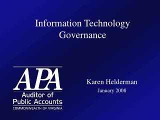 Information Technology Governance