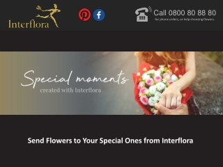 Send Flowers to Your Special Ones from Interflora