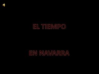 El tiempo en Navarra