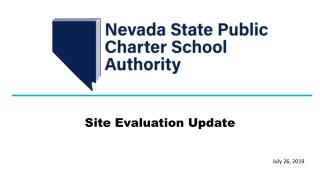 Site Evaluation Update