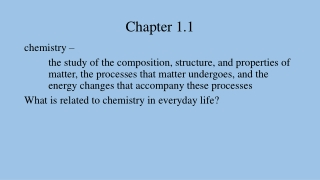 Chapter 1.1