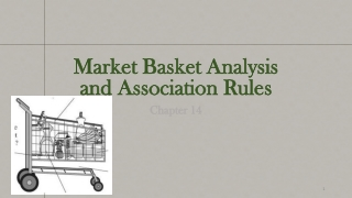 Market Basket Analysis and Association Rules