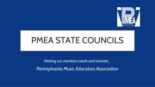 PMEA STATE COUNCILS