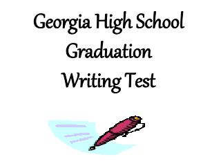 Georgia High School Graduation Writing Test