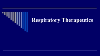 Respiratory Therapeutics