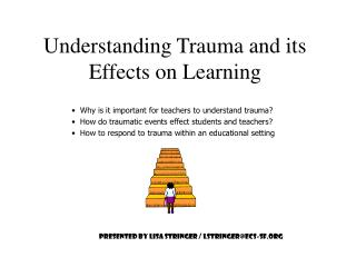 Understanding Trauma and its Effects on Learning