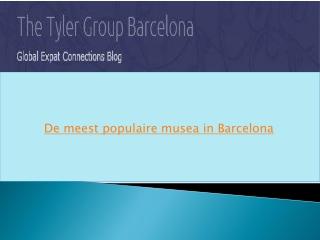 De meest populaire musea in Barcelona
