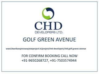 Golf Greens Avenue Gurgaon ,Call 9650268727