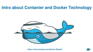 Intro about Contanier and Docker Technology