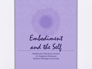 Embodiment and the Self