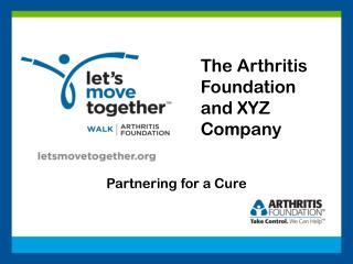 The Arthritis Foundation and XYZ Company