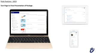 Turn Page to View Presentation of Package