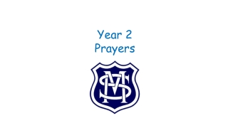 Year 2 Prayers