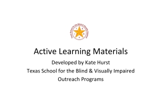 Active Learning Materials