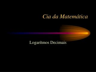 Cia da Matemática