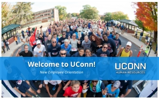 Welcome to UConn!