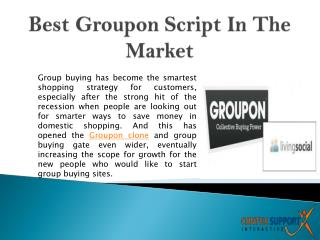 Best Groupon Script In The Market