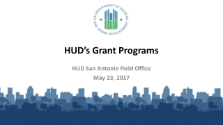 HUD's Grant Programs