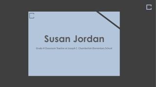 Susan Jordan Foxboro MA - Experienced Teacher