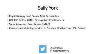 Sally York