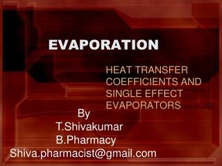 evoparation