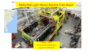 Selected Light Meson Results from GlueX